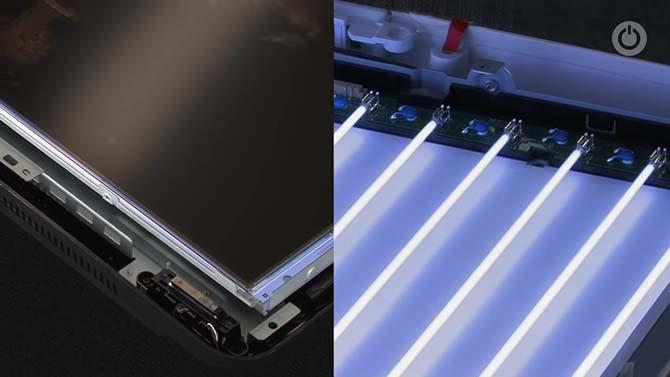 Монитор c ccfl лампами