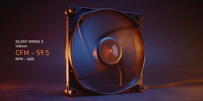 Характеристики компьютерного вентилятора