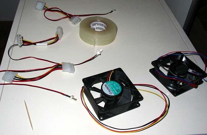 как подключить вентилятор к компьютеру