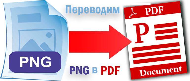 конвертировать png в pdf