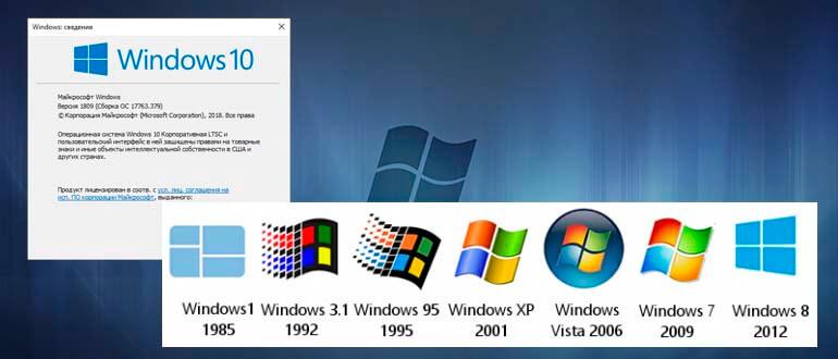 как узнать версию windows
