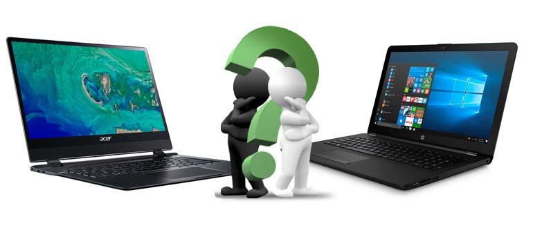 На что обратить внимание при выборе ноутбука
