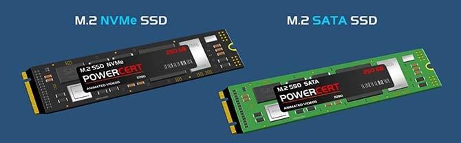 NVMe и SATA M.2 SSD