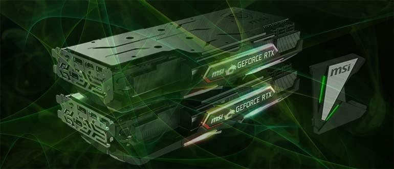 фото nvlink на двух видеокартах