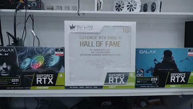 Galax RTX 2080 Super и Galax RTX 2080Ti