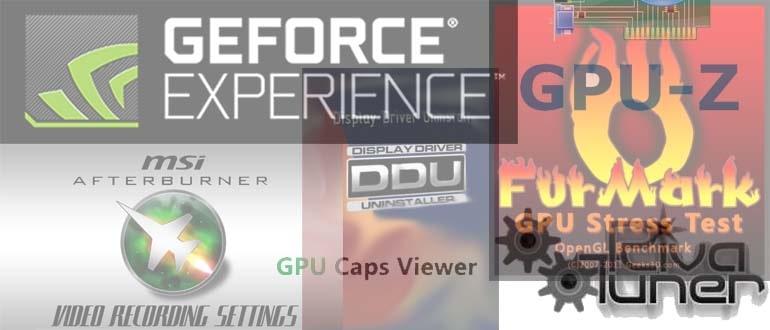 Программы для видеокарт